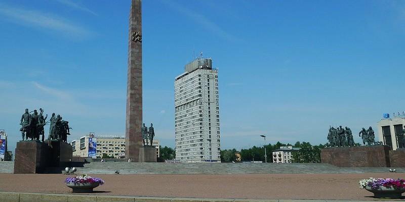 Monumento a los heroicos defensores de Leningrado, San Petersburgo