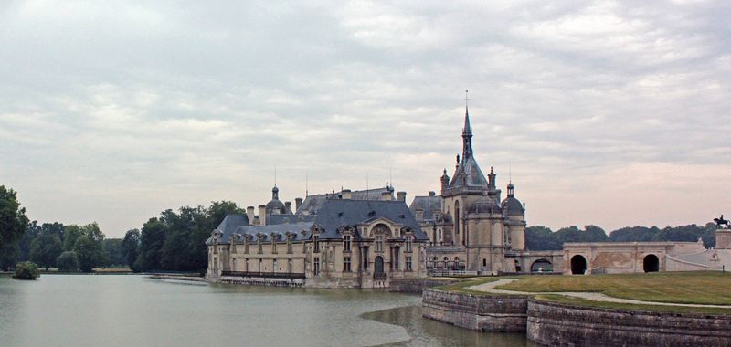 Palacio de Chantilly, París