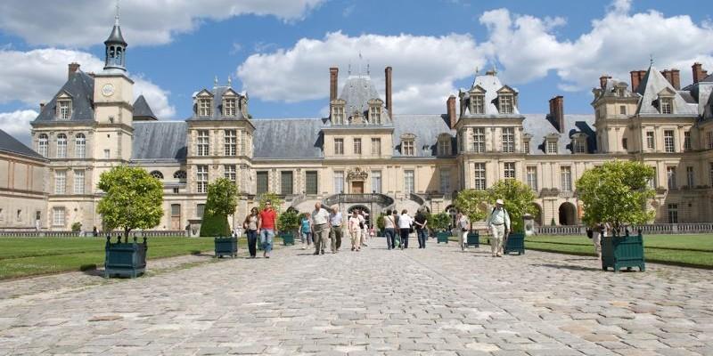 Palacio de Fontainebleau, París
