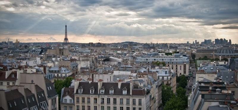 Plano de París - Mapa turístico de París