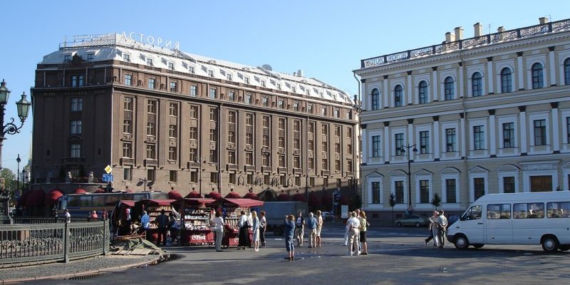 Plaza de San Isaac, San Petersburgo