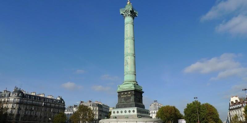 Plaza de la Bastilla - Opera de París