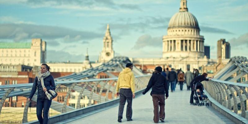 Puente del Milenio, Londres
