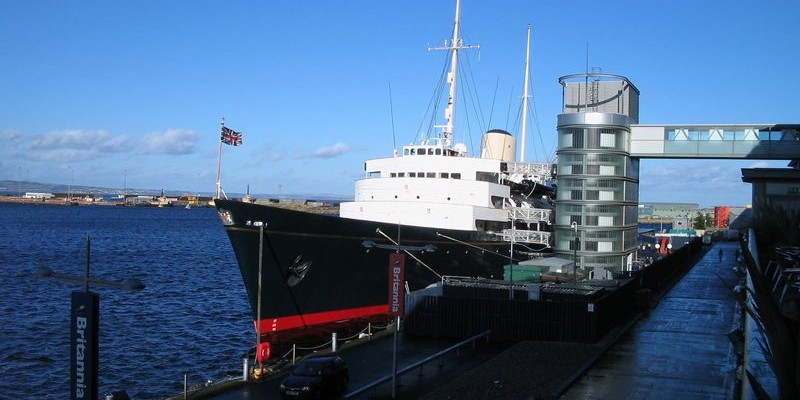 Royal Yacht Britannia, Edimburgo