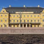 El palacio del conde Ménshikov