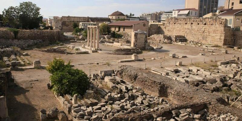 Ágora Antigua, Atenas
