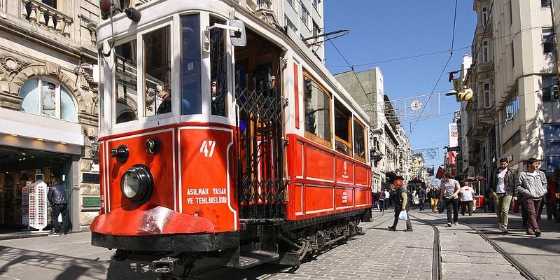 Beyoglu - Istiklal Caddesi, Estambul