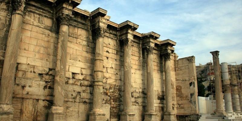 Biblioteca de Adriano, Atenas