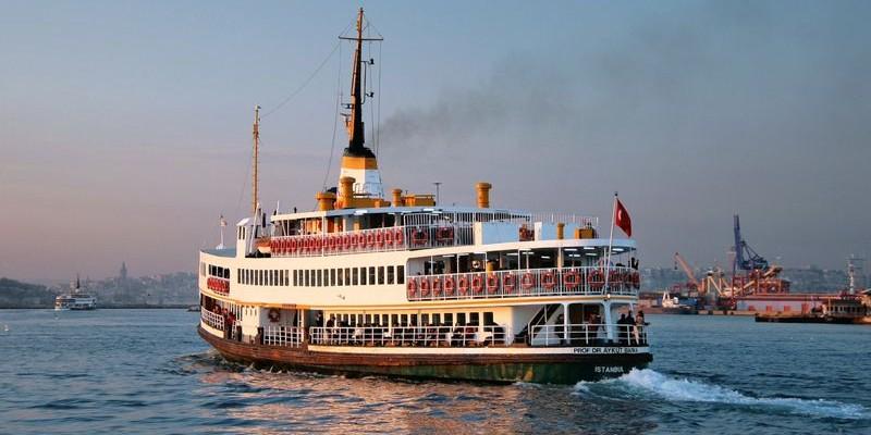 Crucero por el Bósforo, Estambul