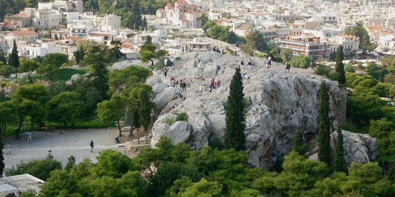 El Areópago, Atenas