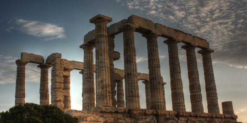 El Cabo Sunión, Atenas