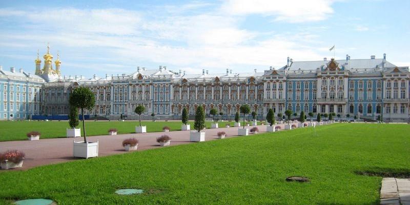 El Palacio de Pushkin, San Petersburgo