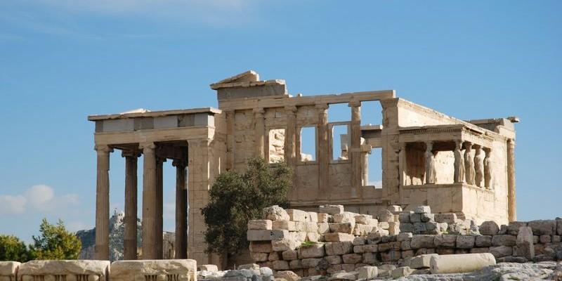 El Templo del Erecteion, Atenas