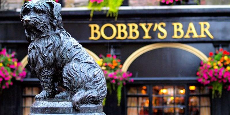 Greyfriars Bobby, Edimburgo