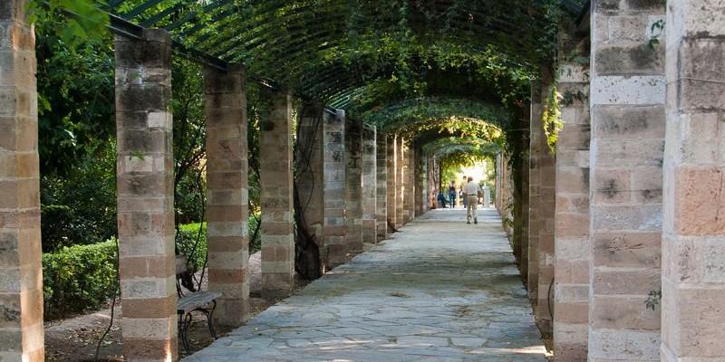 Jardín Nacional, Atenas