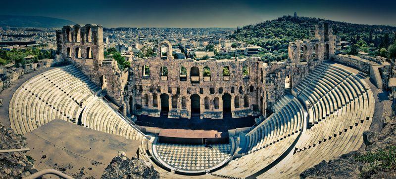 Odeón de Herodes Ático, Atenas