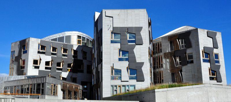 Parlamento de Escocia, Edimburgo
