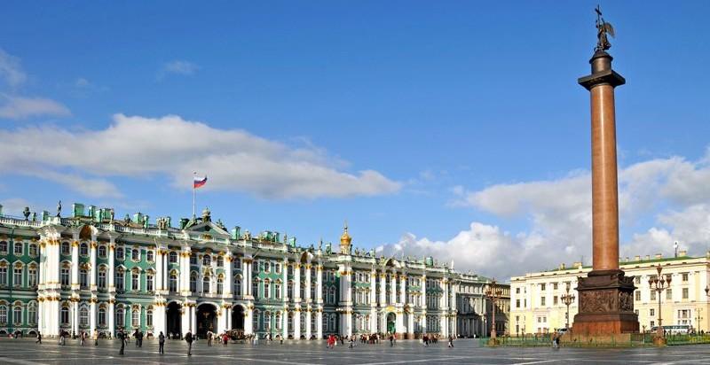 Plano de San Petersburgo - Mapa turístico de San Petersburgo