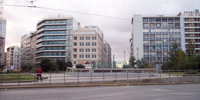 Plaza Omonia, Atenas