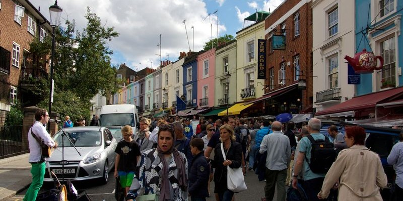 Portobello Road Market, Londres