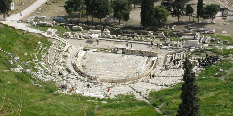 Teatro de Dionisio, Atenas