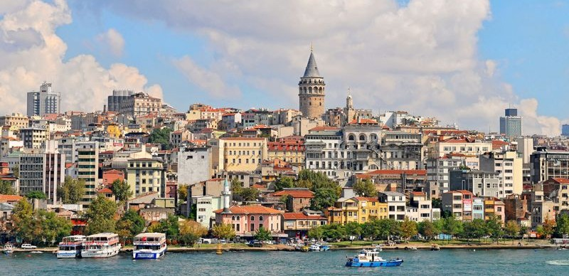 Plano de Estambul - Mapa turístico de Estambul