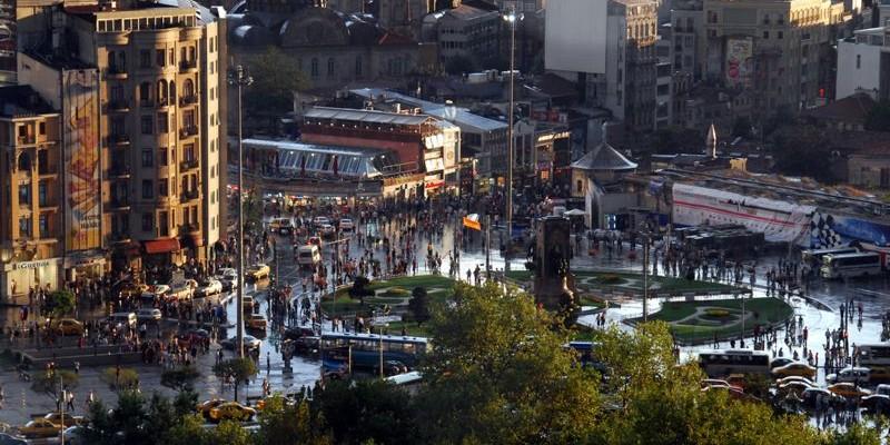 Plaza Taksim, Estambul