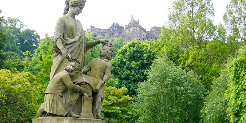 Princes Street Gardens, Edimburgo