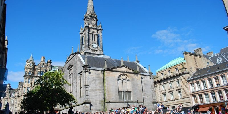 Tron Kirk, Edimburgo