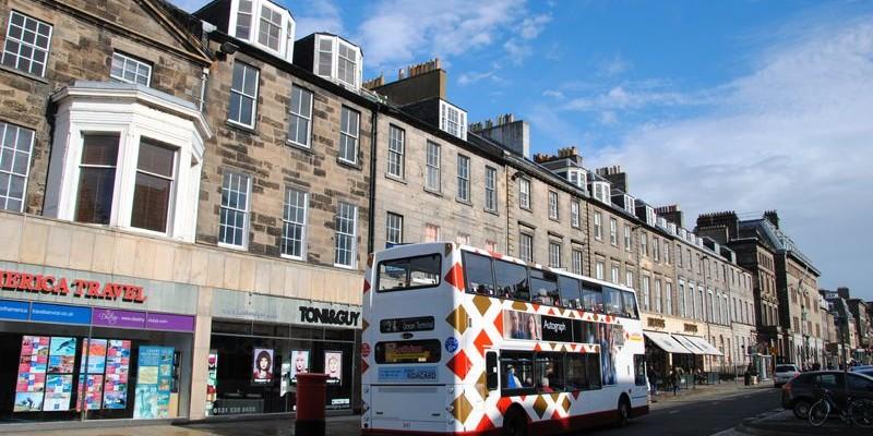 Moverse por Edimburgo | Autobús, taxi, tranvía | Precio