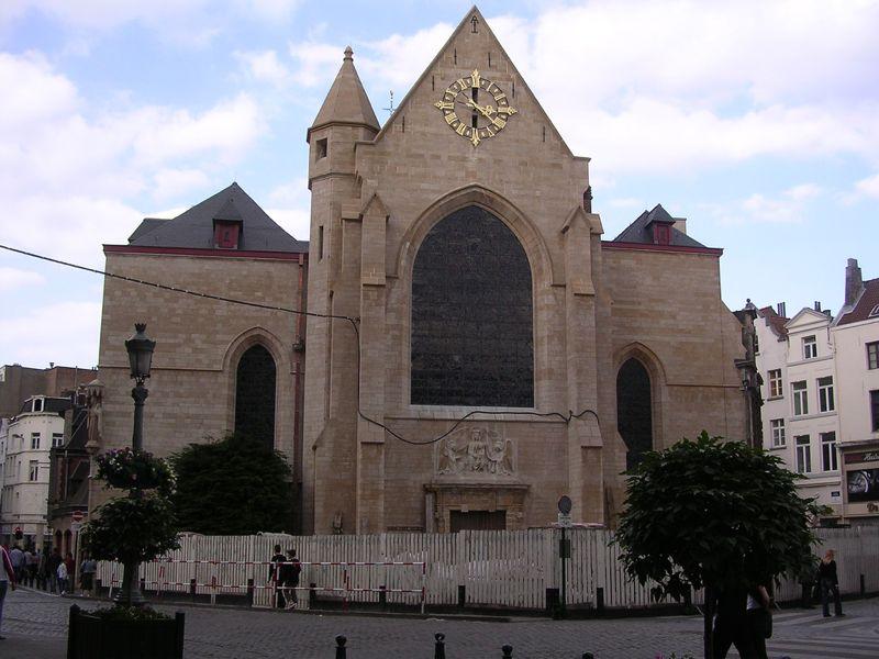 Iglesia de San Nicolás  Bruselas  Horario