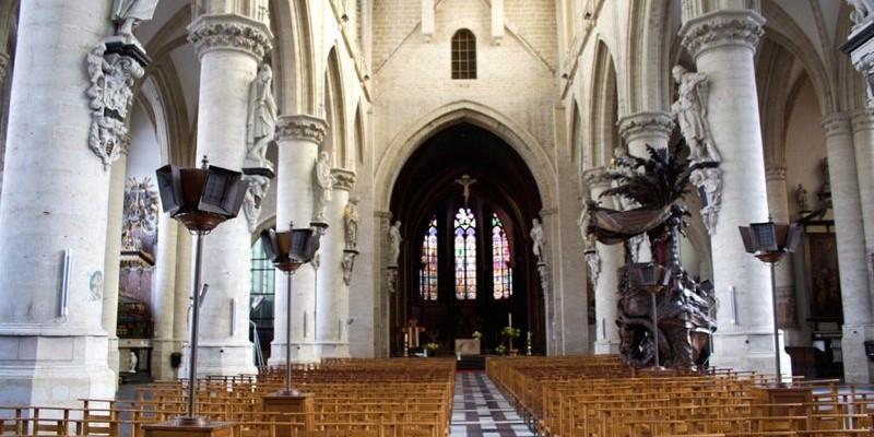 Notre Dame de la Chapelle | Bruselas | Historia, visita